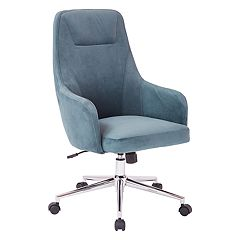 Ave Six Marigold Velvet Upholstered Desk Chair