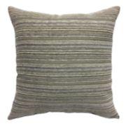 Bryce Jacquard Stripe Reversible Throw Pillow