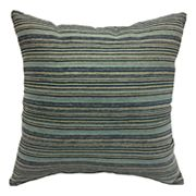 Bryce Jacquard Stripe Reversible Throw Pillow