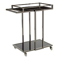 OSP Designs Angela Mirrored Bar Cart
