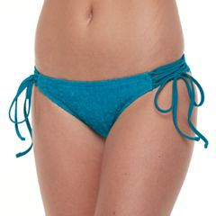 Mix and Match Burnout Velvet Hipster Bikini Bottoms