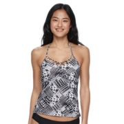 Mix and Match Tie-Dye Halterkini Top