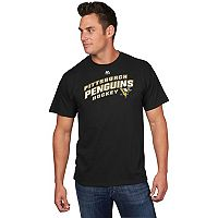 Men's Majestic Pittsburgh Penguins Appeal Play Tee