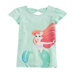 Disney's Ariel Girls 4-10 Flutter Cross-Back Tee by Jumping Beans®
