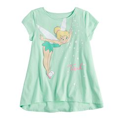 Disney's Tinkerbell Girls 4-10 Swing Tee by Jumping Beans®
