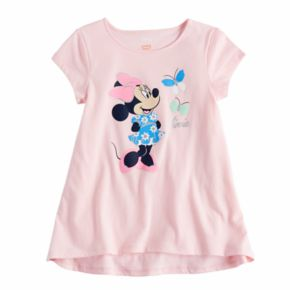 Disney's Minnie Mouse Girls 4-10 Swing Tee by Jumping Beans®