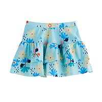 Girls 4-10 Jumping Beans® Tiered Printed Tulip Skort