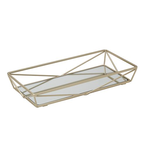 Home Details Geometric Mirror Vanity Tray