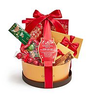 Godiva Chocolatier Home For The Holidays Gift Basket
