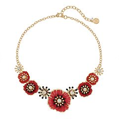 Dana Buchman Poppy Statement Necklace