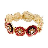Dana Buchman Poppy Stretch Bracelet