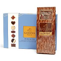 Godiva Chocolatier Dark Chocolate Truffle Coffee & Chocolate Biscuit Gift Set