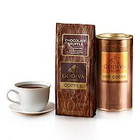 Godiva Chocolatier Chocolate Coffee & Cocoa Gift Set