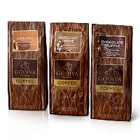 Godiva Chocolatier Ground Coffee Variety Set