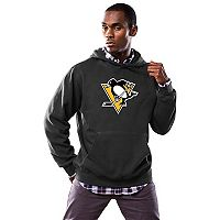 Men's Majestic Pittsburgh Penguins Logo Hoodie