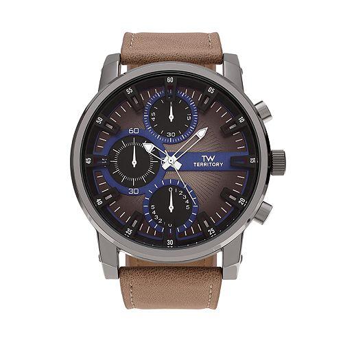 Territory Men's Watch - KH-TW-2210024-BLKTAN