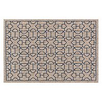 Loloi Newport Geometric Latticework Indoor Outdoor Rug