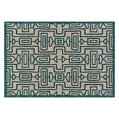 Loloi Newport Geometric Lines Indoor Outdoor Rug