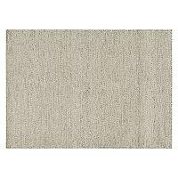 Loloi Oakwood Neutral Solid Wool Blend Rug