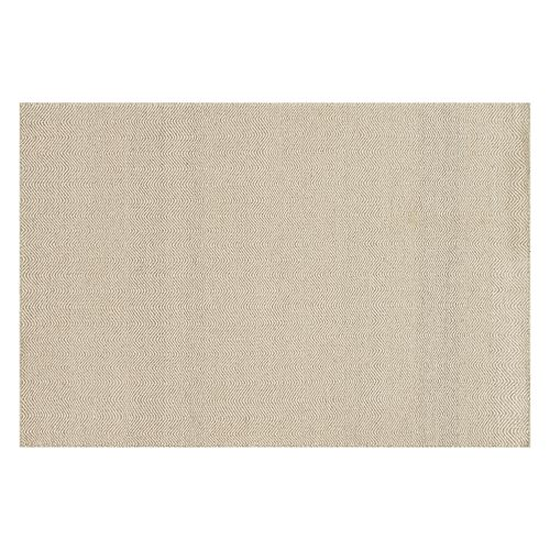Loloi Oakwood Faint Wave Chevron Wool Blend Rug