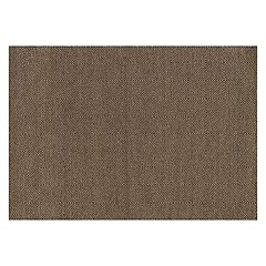 Loloi Oakwood Muted Squares Geometric Wool Blend Rug