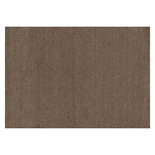 Loloi Oakwood Muted Squares Geometric Wool Blend Rug