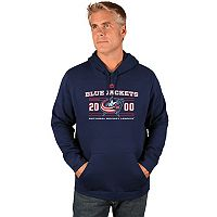 Men's Majestic Columbus Blue Jackets Winning Boost Hoodie