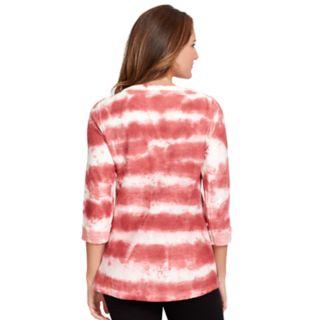 Women's Gloria Vanderbilt Tie-Dyed Tee