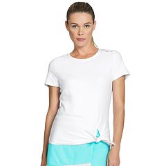 Women's Tail Sibley White Short Sleeve Tennis Top
