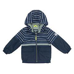 Baby Boy OshKosh B'gosh® Fleece-Lined Striped Top Transitional Lightweight Jacket