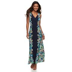 Petite Suite 7 Floral Maxi Dress