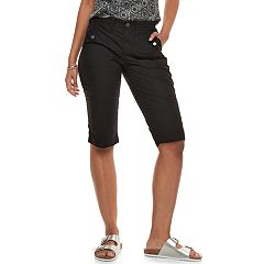 Women's SONOMA Goods for Life™ Ultra Breathable Poplin Skimmer Shorts