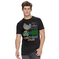 Men's Woodstock Music Festival Tee