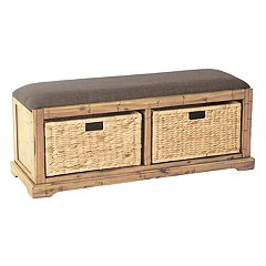 OSP Designs Sheridan 2-Drawer Storage Bench