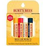 Burt's Bees 4-Pack Best Of Burt's Lip Balm Set