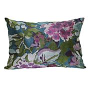 Brentwood Scatterfield Floral Oblong Throw Pillow