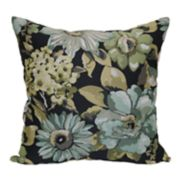 Brentwood Geranium Floral Throw Pillow