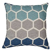 Spencer Home Decor Theo Geometric Reversible Throw Pillow