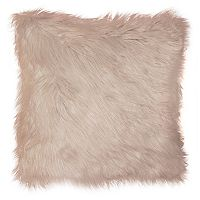 Spencer Home Decor Greer I Faux Fur Throw Pillow