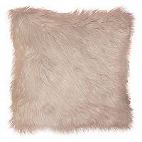 Spencer Home Decor Greer I Faux Fur Throw Pillow