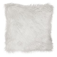 Spencer Home Decor Greer II Faux Fur Throw Pillow