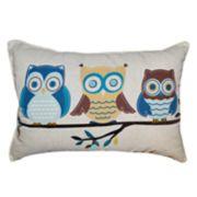 Spencer Home Decor Owlish Oblong Throw Pillow