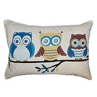 Spencer Home Decor Owlish Oblong Throw Pillow