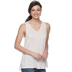 Women's Apt. 9® Strappy Embellished Tank