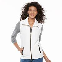 Women's Cathy Daniels Zip-Front Quilted Vest