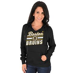 Women's Majestic Boston Bruins Backcheck Hoodie