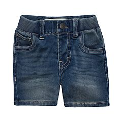 Baby Boy Nike Knit Jean Shorts