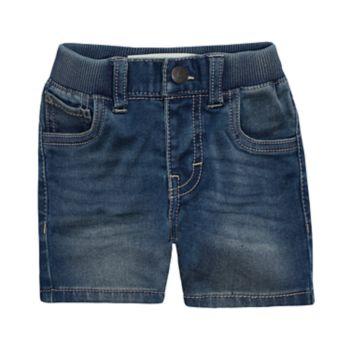 Baby Boy Nike Knit Jean Shorts