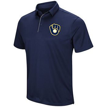 Men's Under Armour Milwaukee Brewers Tech Polo Shirt