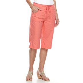 Women's Caribbean Joe Convertible Skimmer Shorts